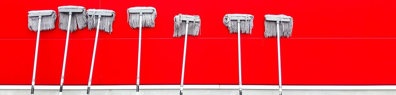 Brushes, Buckets and Sticks